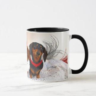 Weiner Hundefeiertags-Tasse Tasse