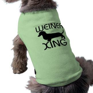 Weiner xing Hundeshirt Shirt