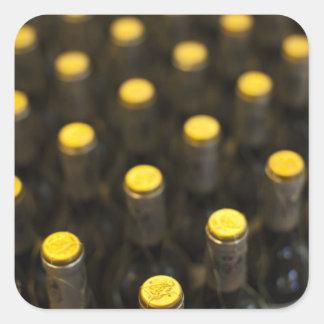 Weinkellerei Bodega Marques de Riscal, Quadratischer Aufkleber