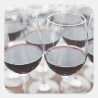 Weinkellerei Bodega Marques de Riscal, Weinprobe 3 Quadratischer Aufkleber