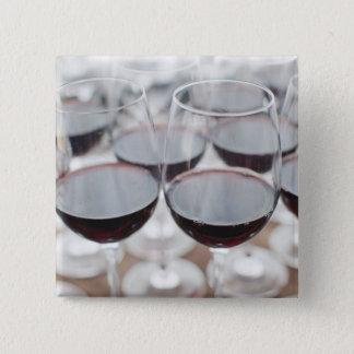 Weinkellerei Bodega Marques de Riscal, Weinprobe 3 Quadratischer Button 5,1 Cm