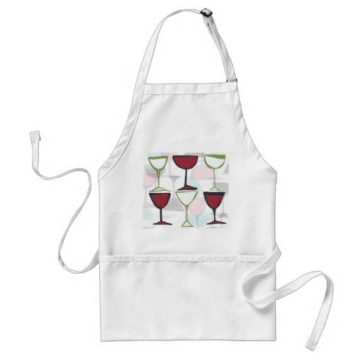 Weinplatten-Schürze