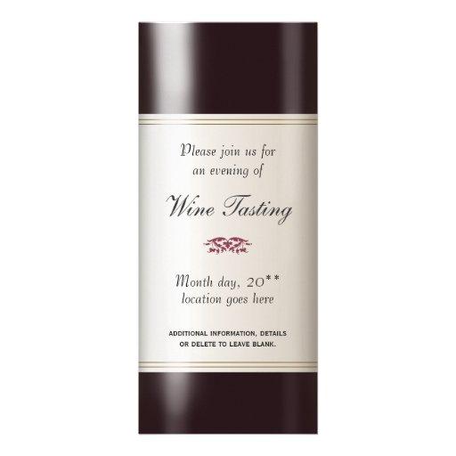 Weinprobe-Einladung