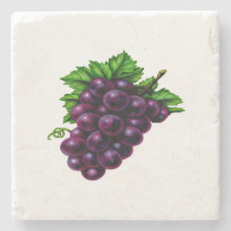 Weintrauben lila steinuntersetzer