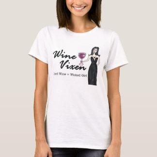 """WeinVixen """"böses Mädchen """" T-Shirt"""