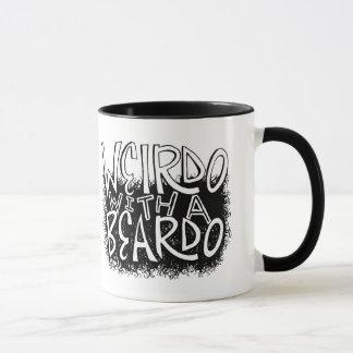 Weirdo mit einem Beardo Tasse