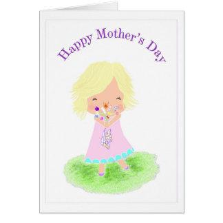 Weise Karte Mutter Aprils Tages** freier Raum **