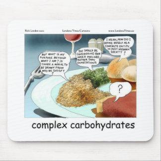 Weisen-zu komplexe Kohlenhydrat-lustige Geschenke Mauspad