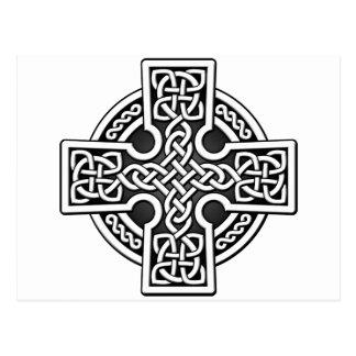 Weisensilber und -GRAU des Celtic 4 Postkarte