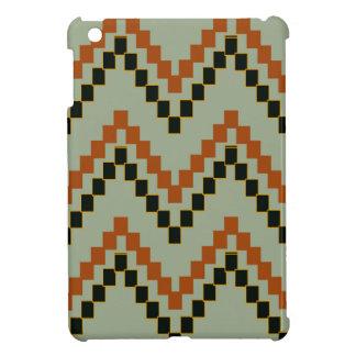 Weiser Western-Block Zickzack iPad Mini Hülle