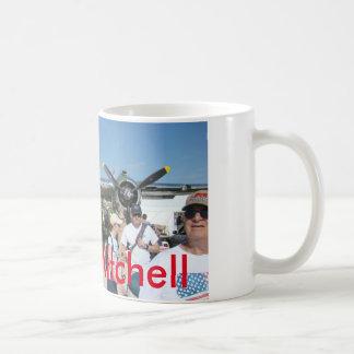 Weiß 11 Unze Mitchell Kaffeetasse
