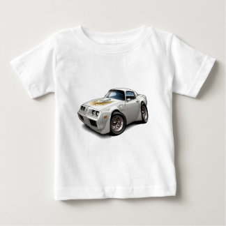 Weiß-Auto 1979-81 Transportes morgens Baby T-shirt