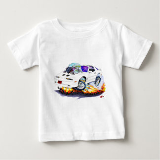 Weiß-Auto 1982-92 Transportes morgens Baby T-shirt