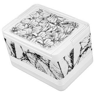 Weiß-Blätter Kühlbox