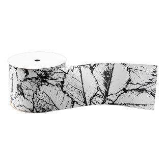 Weiß-Blätter Ripsband