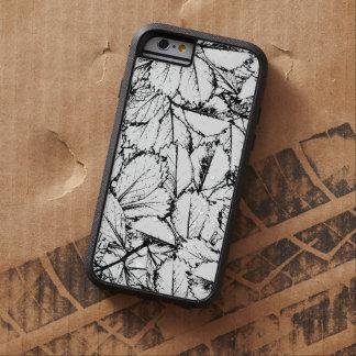 Weiß-Blätter Tough Xtreme iPhone 6 Hülle