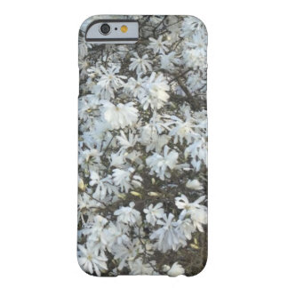 Weiß blüht PhoneCase Barely There iPhone 6 Hülle