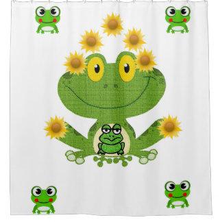 Weiß das showercurtain der grüne gelbe duschvorhang