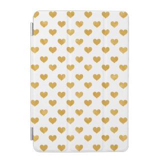 Weiß der Liebe-2018 - goldenes Herz iPad Mini Cover
