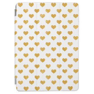 Weiß der Liebe-2018 - goldenes Herz iPad Pro Hülle