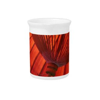 Weiß des Japan-Regenschirm-Tee-K Bangasa Getränke Pitcher