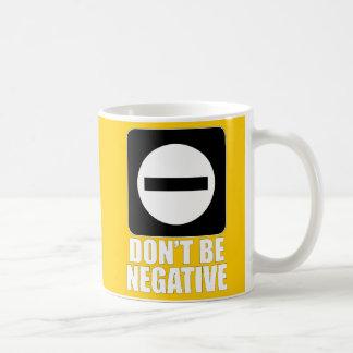 Weiß des Negativ-2 Kaffeetasse