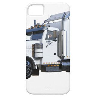 Weiß-halb Sattelzug Schutzhülle Fürs iPhone 5