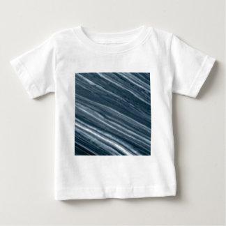 Weiß herauf Steigungslinien Baby T-shirt