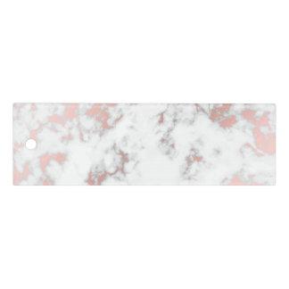 Weiß, Marmor, Rosengold, modern, Chic, schön, eleg Lineal