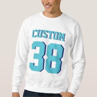 Weiß u. Sport-Fußball Jersey der Sweatshirt