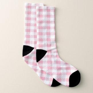Weiß und Ihr Farbbüffel kariert Socken