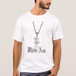 Weiß und Nerdy T-Shirt