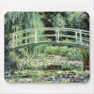 Weiß-Wasserlilien Claudes Monet |, 1899 Mousepads