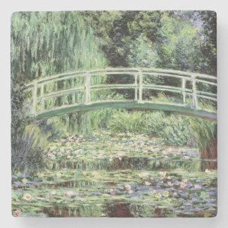Weiß-Wasserlilien Claudes Monet |, 1899 Steinuntersetzer