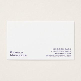 Weiß XV Visitenkarte