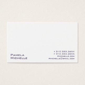 Weiß xxi visitenkarte