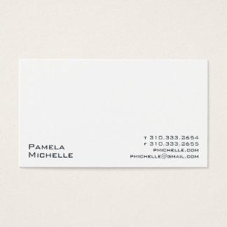 Weiß XXIII Visitenkarte