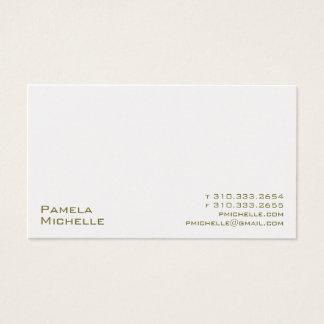 Weiß XXMI Visitenkarte