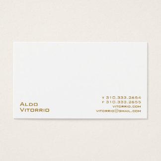 Weiß XXV Visitenkarte