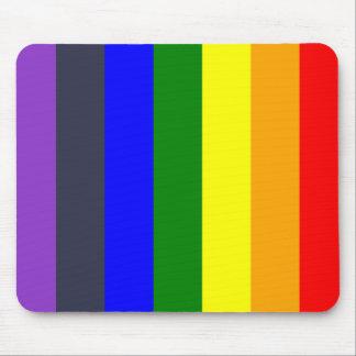 Weiß, zum des Regenbogens der Farbkräfte zu Mousepad
