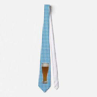 weissblau Bayern Weissbier Weizenbier Personalisierte Krawatte