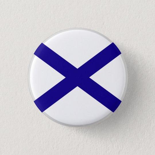 """""""Weisse Armee""""-Pin Runder Button 2,5 Cm"""