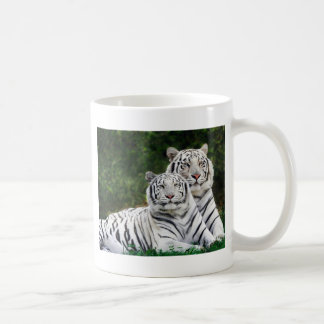 Weiße bengalische Tiger Kaffeetasse