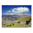 Weiße Berge Postkarte