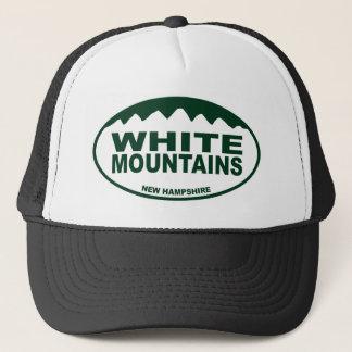 Weiße Berge Truckerkappe