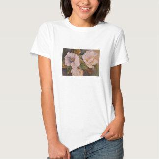 Weiße Blumen Hemd