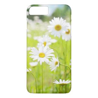 weiße Blumen iPhone 8 Plus/7 Plus Hülle