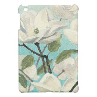 Weiße Blüten vom Süden iPad Mini Hülle