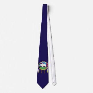 Weiße Büffel-gebürtiger Amerikaner-Krawatte Individuelle Krawatten