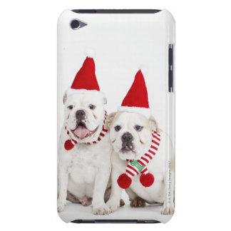 Weiße Bulldoggen iPod Case-Mate Case